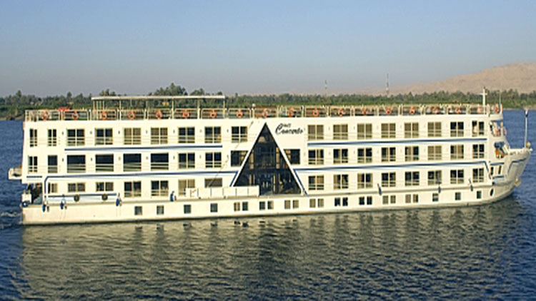 7 Nights / 8 Days MS Concerto Nile Cruise Luxor - Aswan - Luxor
